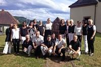 Der Gospelchor Swing Low gibt ein Konzert auf dem Gengenbacher Bergle