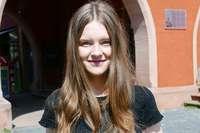 """""""Meine Schule ist unterstützend und offen"""", sagt Lena Einsele"""