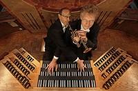 Bernhard Kratzer (Trompete/Corno da caccia) & Paul Theis (Orgel)
