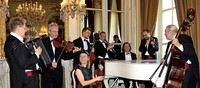 Das Salonorchester Baden-Baden spielt in Nimburg
