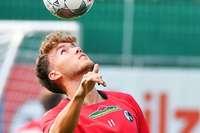 Aufgeräumt und reflektiert: Stürmer Luca Waldschmidt beim SC Freiburg