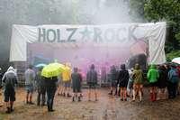 Das Holzrock Open Air bietet der linken Subkultur eine Plattform