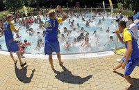 Sommer-Poolparty steigt im Waldbad in Bad Säckingen