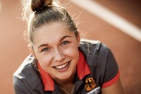 Deutschlands schnellste Frau: Gina Lückenkemper drückt gern aufs Tempo
