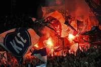 Der Karlsruher SC streitet wegen Pyrotechnik mit dem DFB