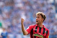 Waldschmidt schießt den SC Freiburg in die nächste Pokal-Runde