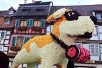 """Sélestat feierte """"90 Jahre Blumencorso"""" und viele Tausend Besucher waren dabei"""