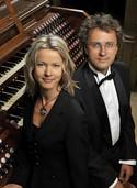 Das Orgel-Duo Ilze Reine und Aigars Reinis aus Lettland gastiert in der Stiftskirche