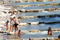 Für Wasserliebhaber ist die Fischtreppe in der Dreisam ein Segen