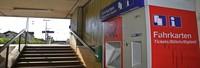 Servicewüste Bahnhof