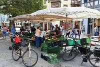 Wochenmarkt: Kunden haben es in der Hand