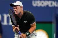 Dominik Koepfer aus Furtwangen scheidet bei den US Open aus