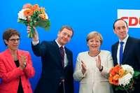 Kramp-Karrenbauer nach Ost-Wahlen weiter gegen Zusammenarbeit mit AfD