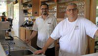 In der Pizzeria Da Franco fühlt man sich nach Italien versetzt
