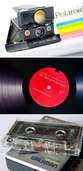 Musikkassetten, Schallplatten, Polaroids & Co.: Das Geschäft mit den Retro-Nischen