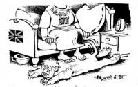 Der britische Löwe