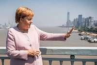 Merkel hat in China wohl mit Menschenrechtsanwälten gesprochen