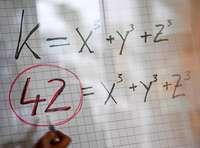 Matheproblem der Zahl 42 geknackt