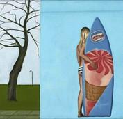 Die Stuttgarter Malerin Stefanie Krüger stellt im Artforum aus