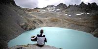"""Gletscher in der Schweiz """"beerdigt"""""""