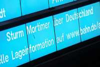 """Tief """"Mortimer"""": Bahn stellt Fernverkehr im Norden weitgehend ein"""
