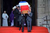 """""""Adieu et merci, Monsieur Chirac"""" - ein Land nimmt Abschied"""