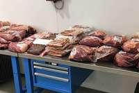 Ein Zürcher schmuggelte mehr als 800 Kilo ungekühltes Fleisch in die Schweiz