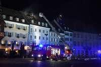 Der Brand am Münsterplatz war in jeder Hinsicht brenzlig