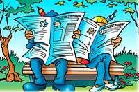 Kooperatives Lesen und Schreiben mit der Zeitung