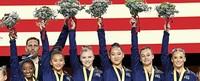 Die USA haben die besten Turnerinnen