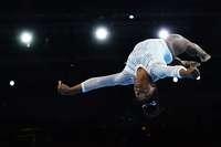 Wie von einem anderen Stern: Simone Biles ist der Star der Turn-WM