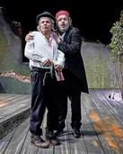 """Das Landestheater Württemberg-Hohenzollern spielt Becketts """"Warten auf Godot"""" im Parktheater"""