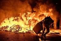 Festnahmen und brennende Straßen bei Protesten in Katalonien