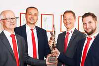 Die Hans Fleig GmbH aus Kuhbach erhält den Großen Preis des Mittelstands