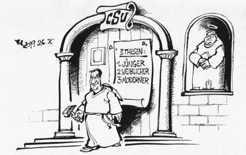 Der Reformator Zeichnung: Haitzinger