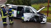 Acht Personen bei Frontalkollision auf der B31 in Titisee-Neustadt verletzt