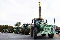 Bauern protestieren gegen Agrarpolitik