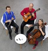 Das Trio Briósh spielt Traditionelles aus Osteuropa und Eigenkompositionen