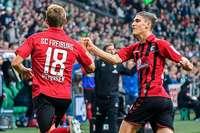 Nils Petersen trifft in Bremen doppelt gegen seinen Ex-Verein