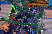 Die Vergrößerung des Weihnachtsmarkts hat Potential
