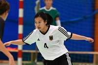 Vier Breisgauer/innen stehen mit dem Futsal-Nationalteam der Gehörlosen im WM-Halbfinale