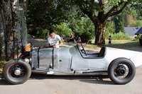 Karosseriebauer Hubert Drescher hat schon Fahrzeuge fürs Mercedes-Benz-Museum gefertigt