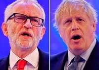 Boris Johnson und Jeremy Corbyn liefern sich erbittertes TV-Duell