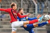Bahlinger SC gelingt Derbysieg beim SC Freiburg II auf der letzten Rille