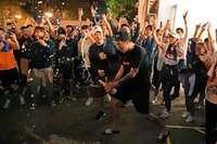 Die Wahl stärkt Hongkongs Demonstranten