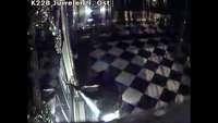 Dieses Überwachungsvideo zeigt die Juwelendiebe in Dresden
