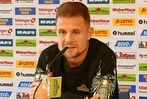Zisch-Pressekonferenz mit Amir Abrashi vom SC Freiburg