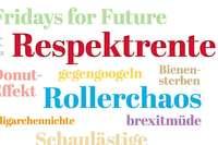 """""""Respektrente"""" ist Wort des Jahres 2019 – vor """"Rollerchaos"""""""