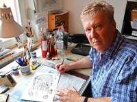 Fotos: Ein Gang durch die Jahrzehnte – Karikaturen von Horst Haitzinger