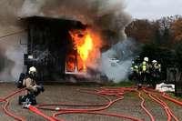 86-Jähriger stirbt bei Brand eines Schuppens in Aesch